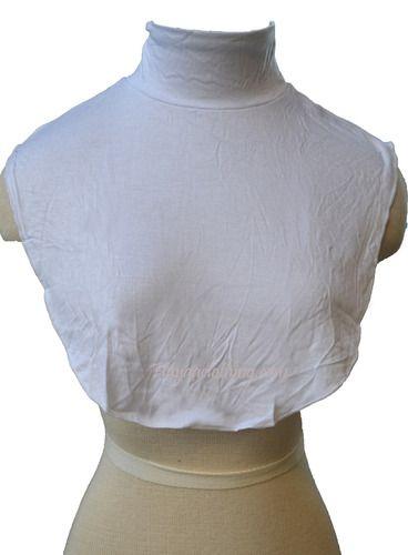 Muslim Neck Cover Islamic Clothing - White