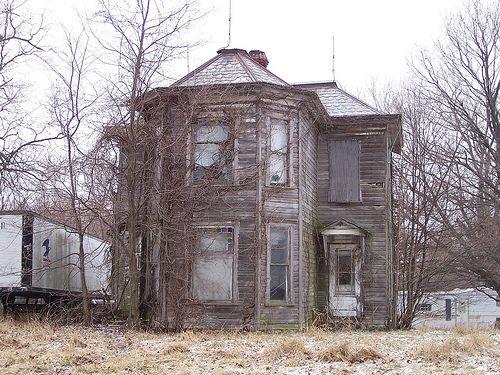 St Johns, Ohio - Abandoned farmhouse
