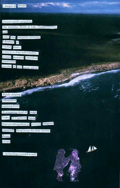 Keeper Of Dreams - a cut-up poem by Keinwyn Shuttleworth