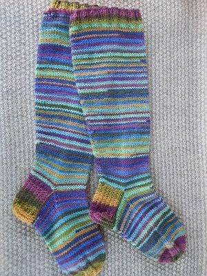 räsymattosukat (rag rug socks)