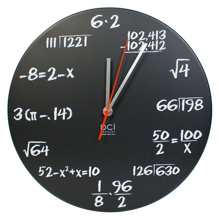 Pop Quiz Clock - Math