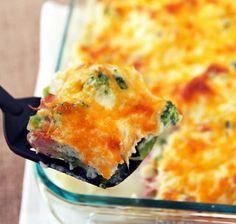 Easy Cheesy Cauliflower Broccoli Casserole! Simple and always a hit!!