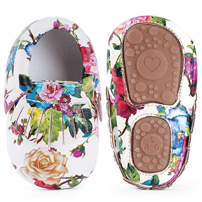 Infant Baby Flowers Girls Sandals With Sound Soft-Soled Girls Shoes Sandals CA