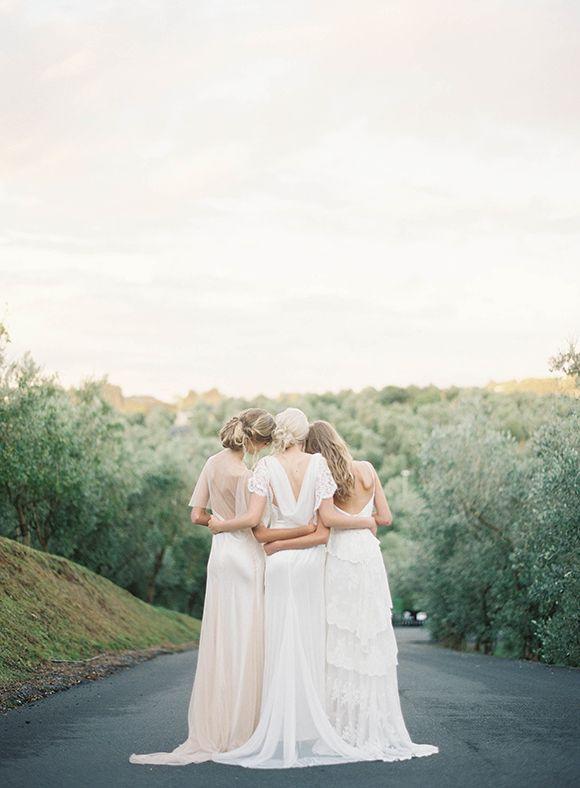Beautiful bridesmaid dresses #wedding #bridesmaids