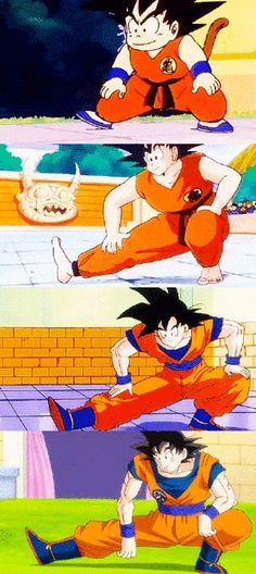 the last goku makes it very easy and relaxed that tender ♥♥ !!> w