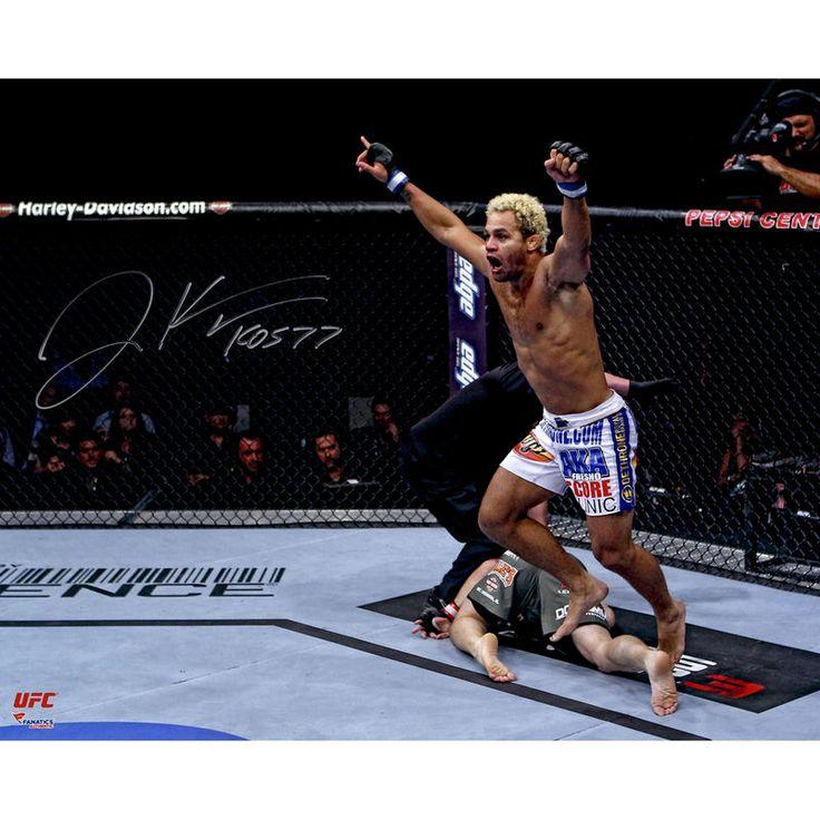 "Josh Koscheck Ultimate Fighting Championship Fanatics Authentic Autographed 16"" x 20"" Raising Arms Over Matt Hughes Photograph"