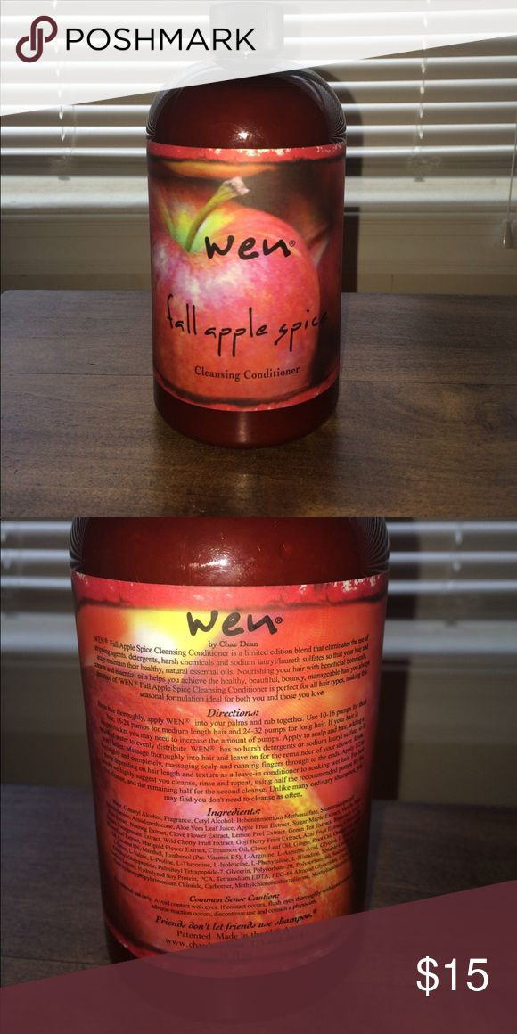 Wen hair care shampoo/conditioner Fall apple spice never opened brand new smells amazing 2 in 1 shampoo/conditioner! wen Other