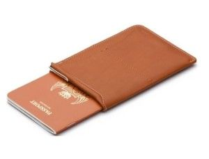 An elegant way for any traveler to pass through any airport. With spaces for your passport, ticket, 2 card slots and micro pen. #Wallet #Wallet Under 100 Dollars
