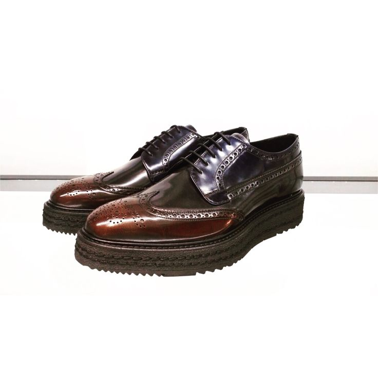 Men Shoes from Prada FW15