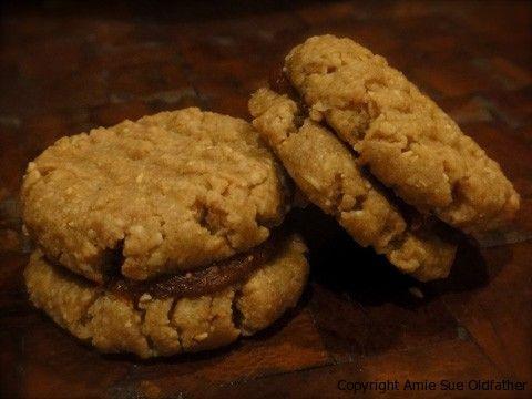 Peanut Butter & Jam Sandwiches - Nouveau Raw