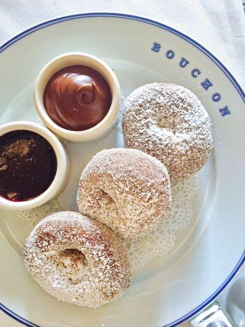 Beignets from Bouchon Bakery in the Venetian Las Vegas