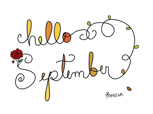 Wonderful Hello, September!