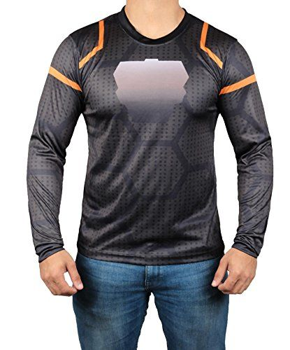 b31fe3f3f9 Miracle(Tm) Infinity War Iron Man T Shirt - Mens Avengers Tony Stark Shirt  (Ironman