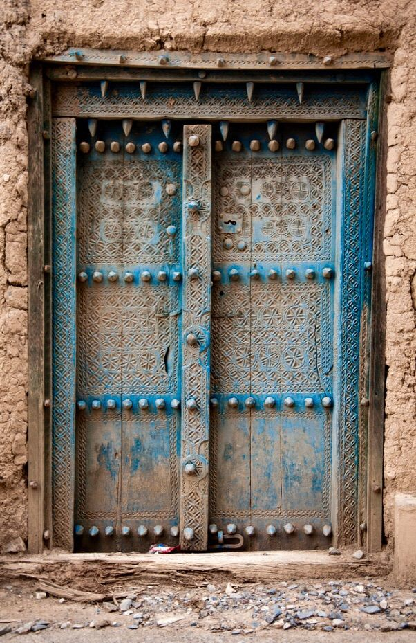 Oman this is a great door this door was found in oman for Door design uae