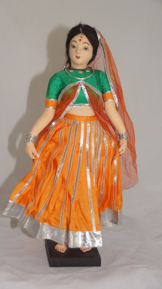Stunning Indian Woman Doll from 1970s by UniqueWorldDolls on Etsy