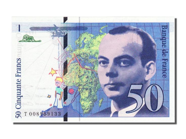 Antoine de Saint-Exupéry: Petit Prince, Saint Exupery, Are, France Saint, Exupéri Of Saint, Saint Exupéri 50, France Banknote, Neig D Antan, Les Neig