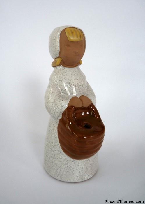 Jie Gantofta Flower Girl Figurine