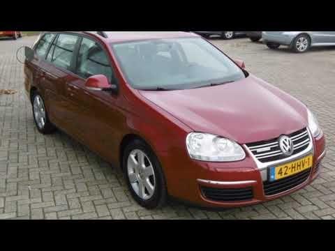 Volkswagen Golf Variant 1 9 Tdi Trendline Bluemotion Vw Golf Tdi