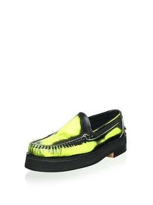 84% OFF Alejandro Ingelmo Men's Camden Leather Venetian Loafer (Yellow)
