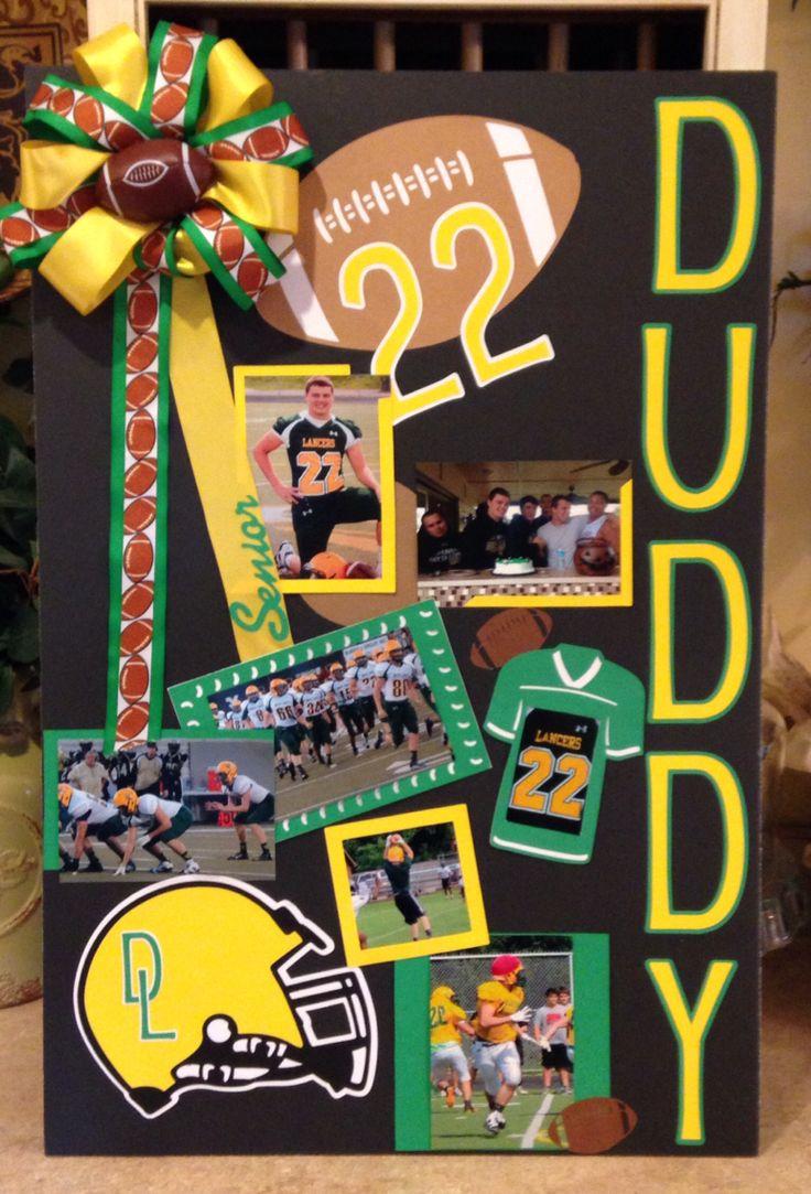 Football Senior Poster