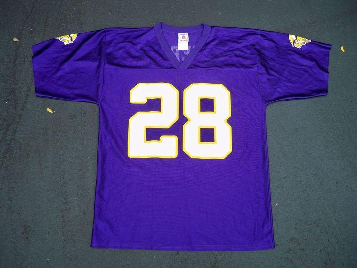 Adrian Peterson Minnesota Vikings 28 Away NFL Football