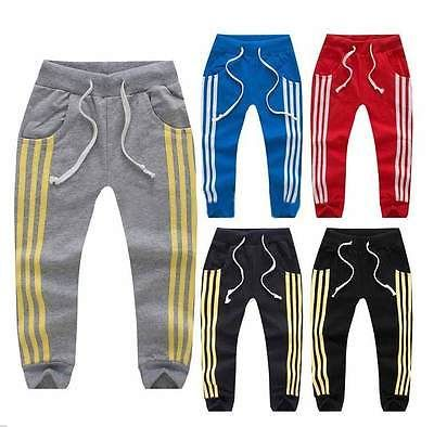 Lindo niño niños niño niña pantalones Harem deporte pantalones pantalones Bottoms ropa para 1-6Y(China (Mainland))