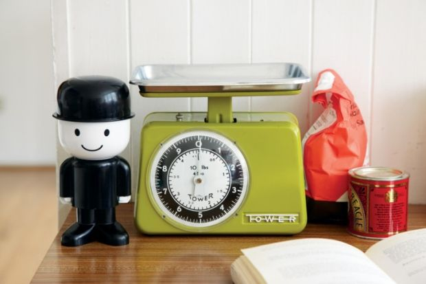 Fred the Flour Grader was created by Homepride to promote its flour shakers. He is now a vintage favourite