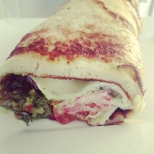 A HEALTHY, HARTY WRAP