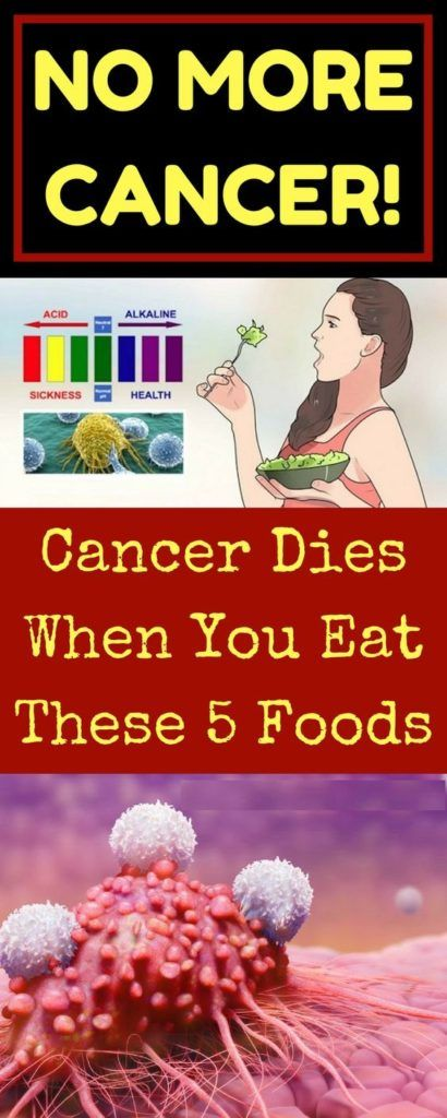 Cancer Dies When You Eat These 5 Foods