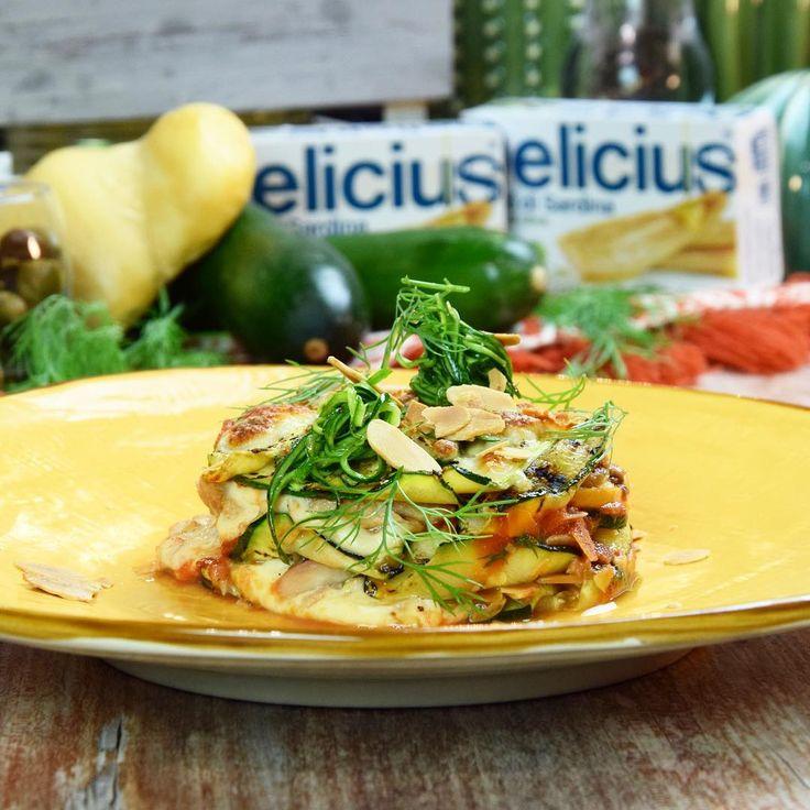 Idee per un pranzo gustoso? Provate la lasagnetta di zucchine, sardine e scamorza. Domani online la video-ricetta completa @delicius_official⠀  -⠀  #chefincamicia #chef #yummy #food #foodie #igersfood #yummy #delicius #sardine #zucchine #healthyrecipe #healthy #amazingfood #amazingrecipe #italianchef