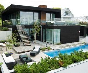 Nilsson Villa is beautiful modern beach house designed with minimalist interior design.