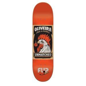 Flip Skateboards Flip Luan Oliveira Unmatched Deck 8.1x32.2