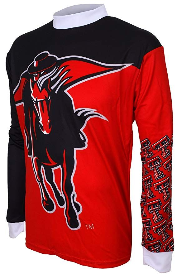 huge discount ce1e8 23ddf NCAA Texas Tech Red Raiders Mountain Bike Cycling Jersey ...