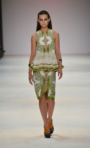 Kaylene Milner was a real standout at MBFWA 2012!