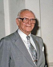 Armand Hammer, 1898 - 1990. industrialist and philanthropist.
