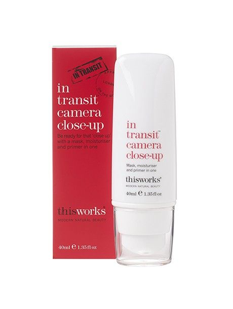 "Be ready for that ""close up"" in seconds with a mask, moisturiser and primer in one."