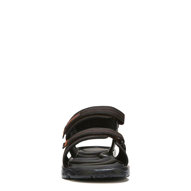 New Balance Men's Plush 2.0 Rafter Medium/Wide Sandals (Brown/Orange) - 10.0 M