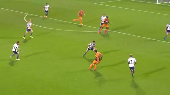 Eye of a Needle! Hull's Hatem Ben Arfa provides awesome assist for Robbie Brady v West Brom [GIF]