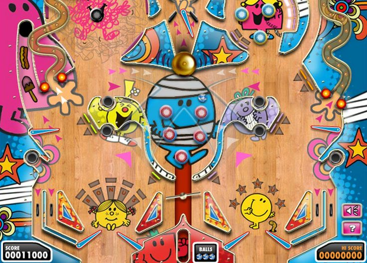 Join Mr. Bump in his crazy pinball game.