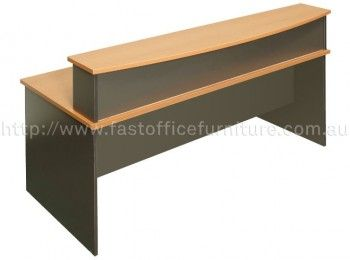 Desk With Reception Cowl
