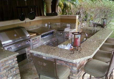 100 best ideas about outside kitchen bbq grills on outdoor kitchen idea gallery galaxy outdoor