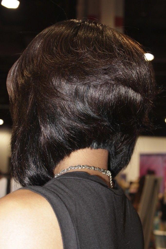 Bob Hairstyle For Black Hair Wedding Day Hairdos Hair Styles