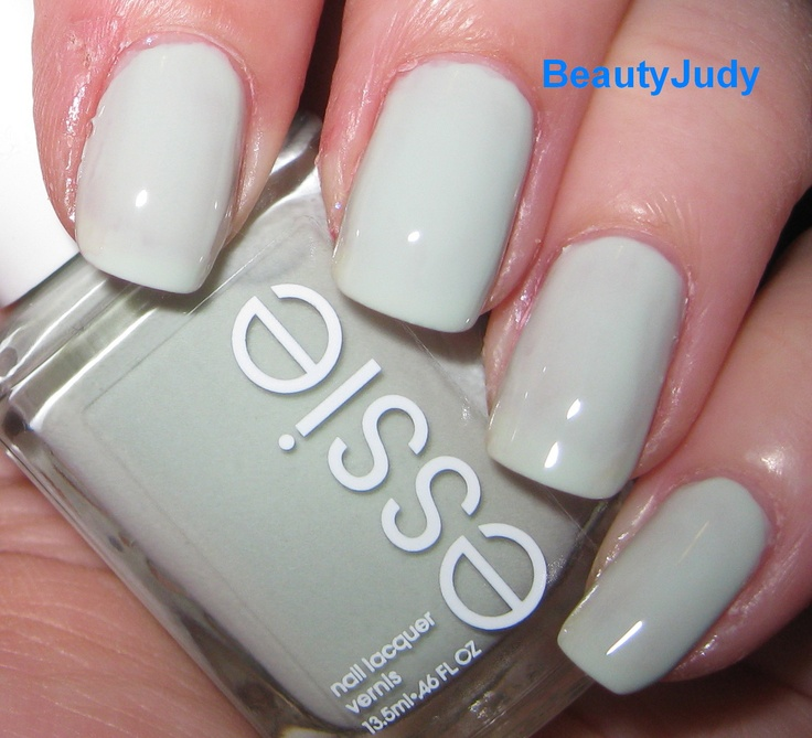 dusty shale nail polish for wedding party