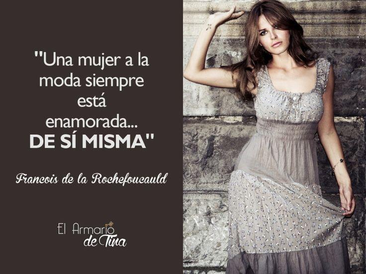 Levanta las manos si estás enamorada de ti misma! \o/ #ElArmariodeTina #FrasedelDía #FrasedeModa #QOTD #FashionQuote