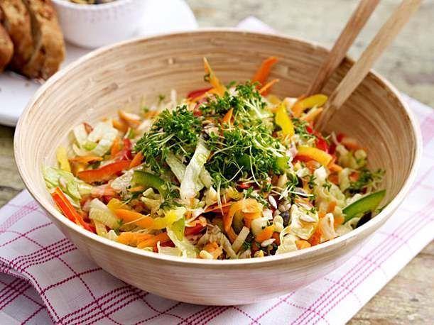 Gemischter Salat – Salate zum Grillen – #mixed #grilling #salad #salate #z …  … – Salat Rezepte