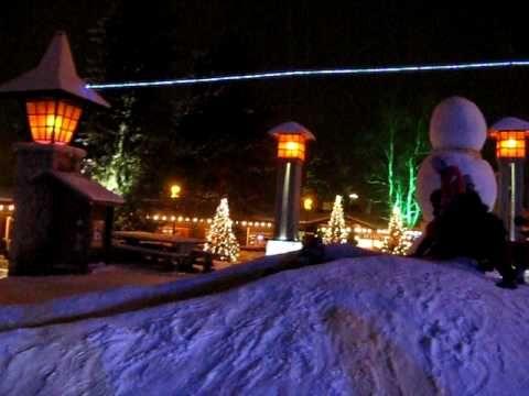 Santa Claus Village - Rovaniemi - La casa di Babbo Natale - YouTube
