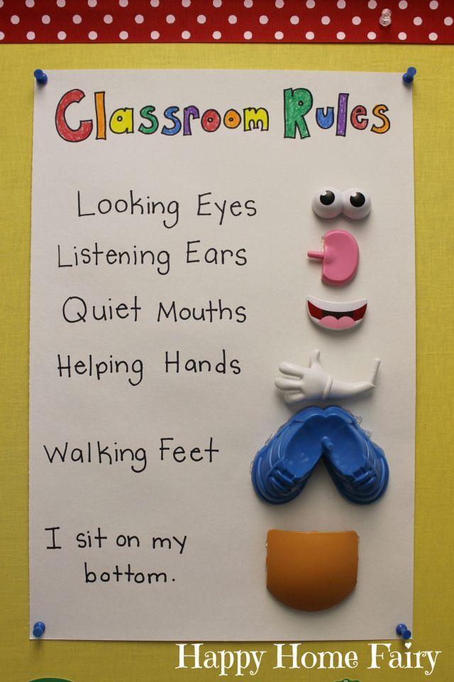 Super cute and fun organizational ideas for preschoolers!