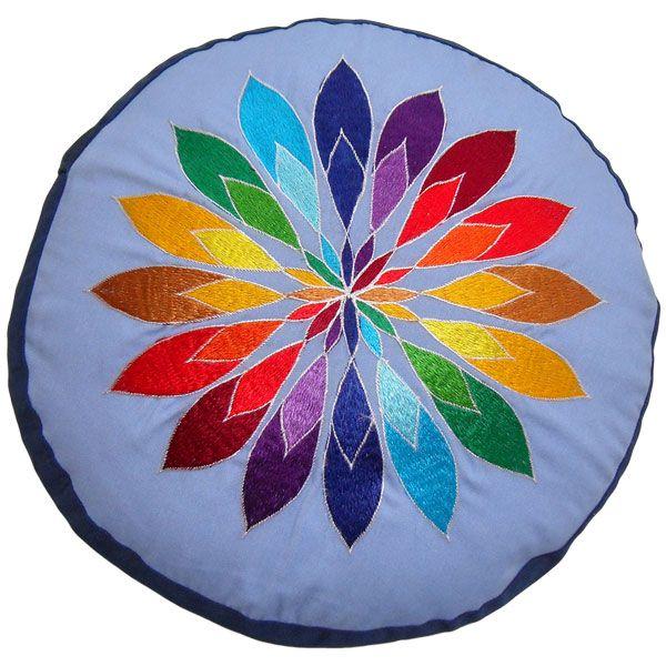 Meditationskissen YogiStick® Mandala Flower blue günstig kaufen