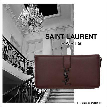 ●16-2017●Saint Laurent モノグラム ジップアラウンド長財布 サンローラン 2016-2017 ファッション