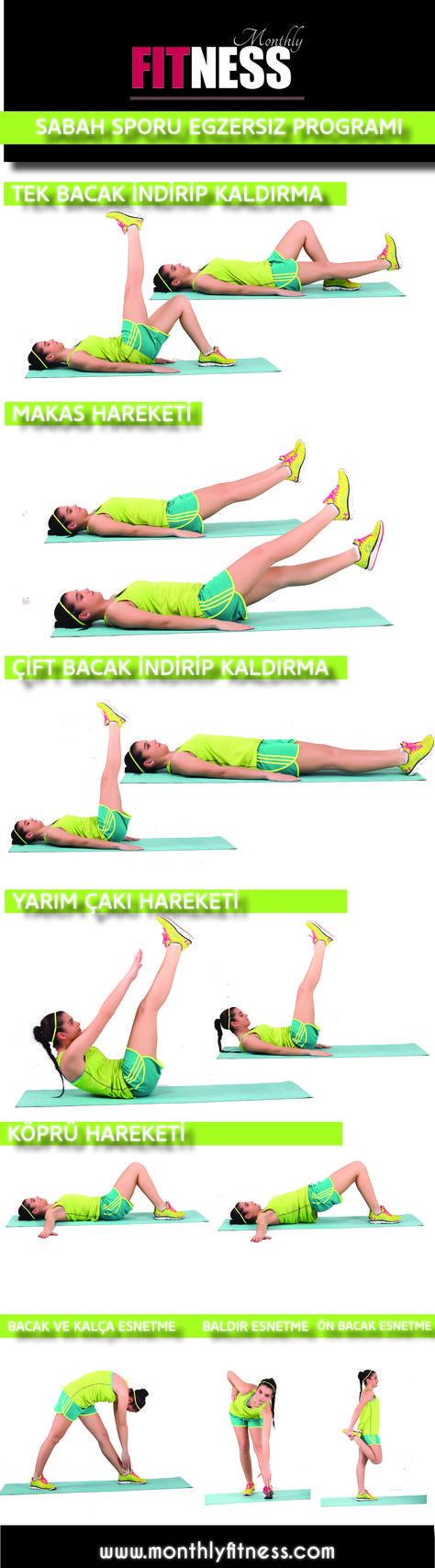 SABAH SPORU EGZERSİZ PROGRAMI - Monthly Fitness